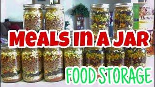 Meals In A Jar | Using Food Storage |