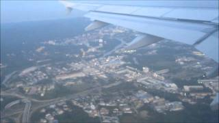 preview picture of video 'BI 423 Royal Brunei A320 Takeoff'