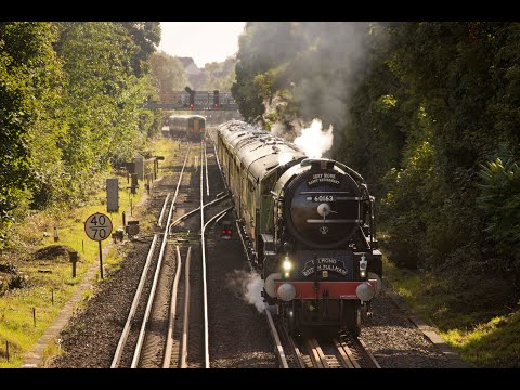 60163 'Tornado' with The Belmond Surrey Hills Pullman at Red…
