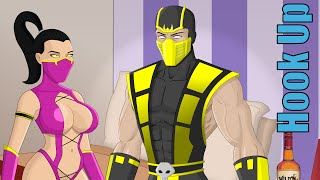 Cartoon Hook-Ups: Scorpion and Mileena