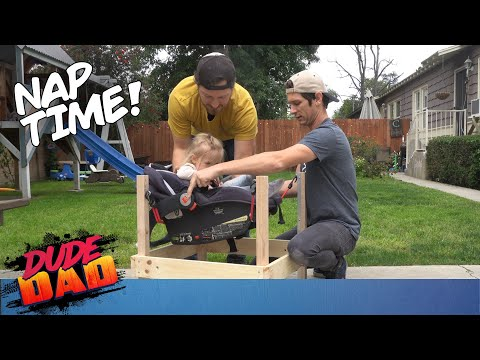 DIY car simulator to help baby nap | Dude Dad