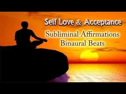 Love and Accept yourself – Binaural & Subliminal   Self Love Deep Relaxation Music