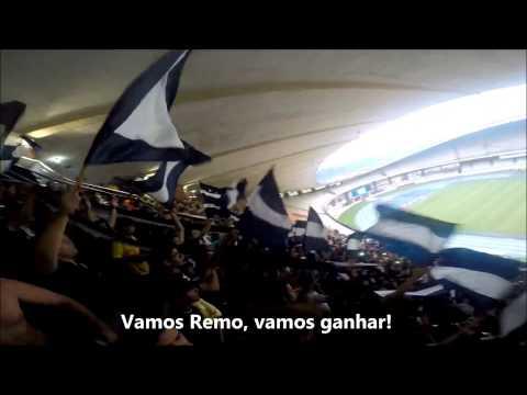 """""""Camisa 33 - E a 33 aqui chegou"""" Barra: Camisa 33 • Club: Remo"""