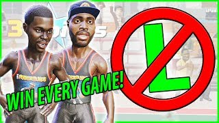 HOW TO 100% WIN EVERY GAME YOU PLAY UNLESS.... - NBA Playgrounds Online Match