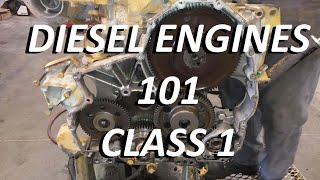 Diesel Engines 101. Class 1.