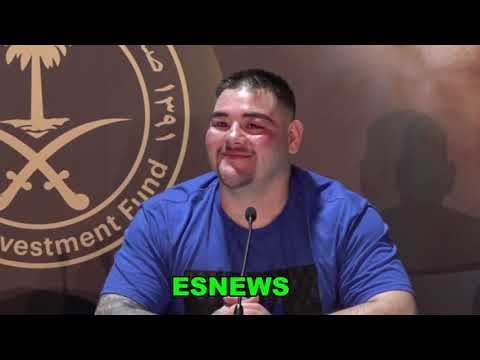 Andy Ruiz Asked Why Didnt He Train For Joshua Rematch  EsNews Boxing