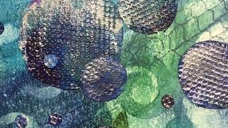 Distress Crayons Art Journal Tutorial - Be A Mermaid