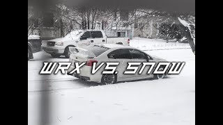 STUCK IN THE SNOW? 2016 Subaru WRX in -30°C Blizzard
