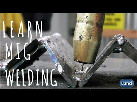 💥 BEGINNER WELDING SERIES   LEARN HOW TO MIG WELD E.4