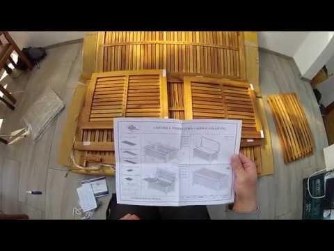 Auflagenbox von DEUBA zusammenbau