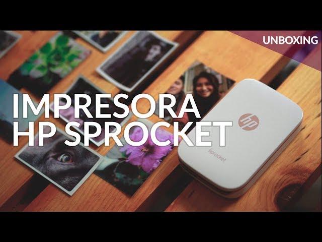 HP Sprocket, UNBOXING: mini impresora SIN TINTA para tu smartphone