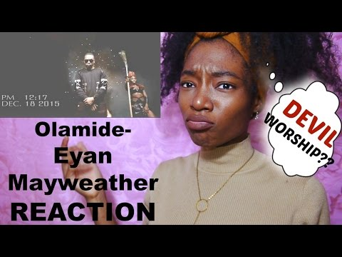 Olamide: Eyan Mayweather REACTION