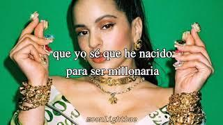 Milionària; Rosalía (español)