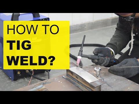 TIG Welding Machine Installation Training - TIG वेल्डिंग ...