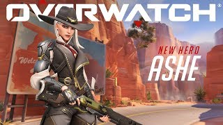 [NOW PLAYABLE] Introducing Ashe | Overwatch