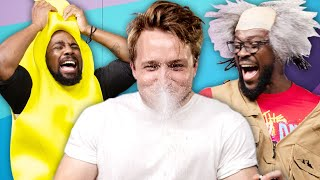 Try Not To Laugh Challenge #33 w/ WWE's New Day (Xavier Woods & Kofi Kingston)