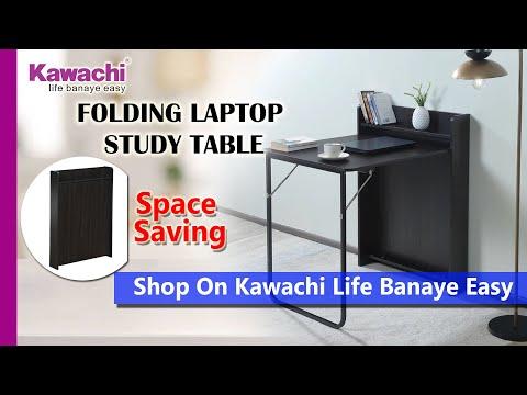 Kawachi Folding Space Saving Wall Mount Work From Home Laptop/Study Writing/ table