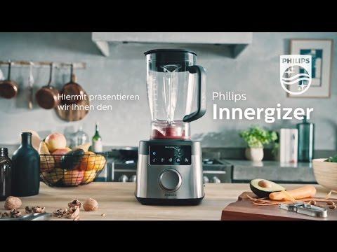Der neue Philips Hochleistungsmixer Innergizer mit 45.000 U/min.
