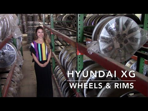 Factory Original Hyundai XG Wheels & Hyundai XG Rims – OriginalWheels.com