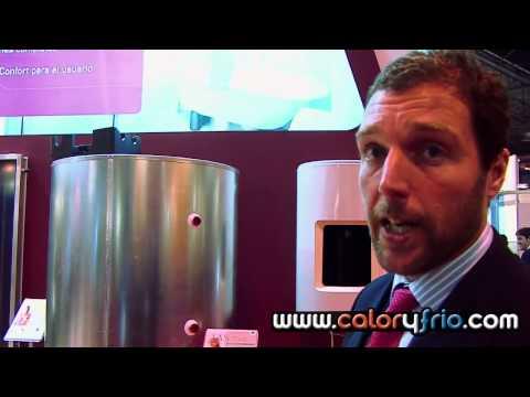 Interacumuladores solares y agua caliente sanitaria ATLANTIC IBERICA en la Feria Climatización 2009