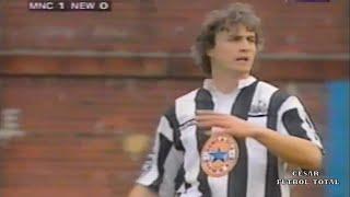 David Ginola Vs Manchester City - (Away/Visita) - Premier - 24/02/1996