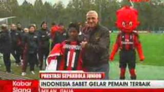 iProud - Indonesia Juarai Milan Junior Camp Day Tournament di Italia.flv