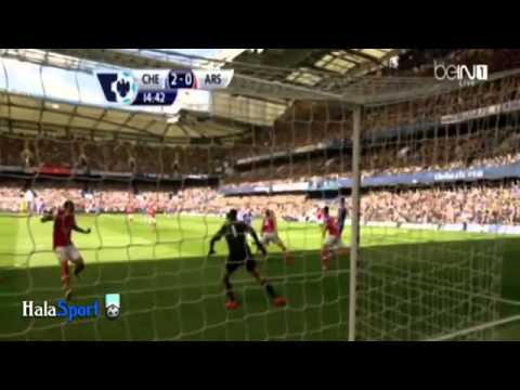 Chelsea vs Arsenal 6-0 / All Goals 22/03/2014