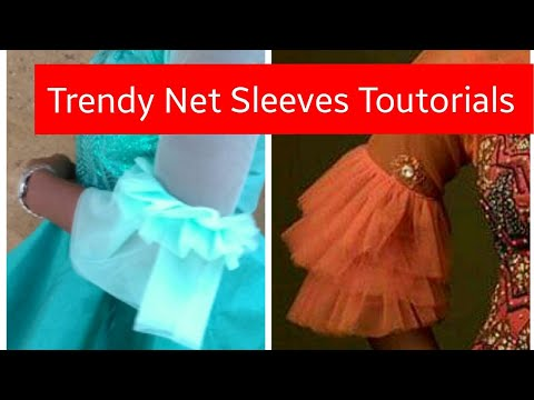 How to cut and sew this Trendy Net Sleeves