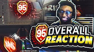 95 OVERALL REACTION!!!  BORN AGAIN! GIVES YOU HOF BADGES? NEVER PAY FOR A NEW BUILD AGAIN! NBA 2K19