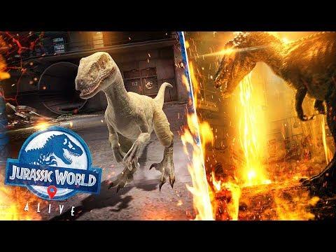 BATTLES In The FALLEN KINGDOM BARYONYX BUNKER | Jurassic World: Alive
