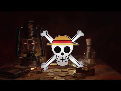 Lampka 3D LED One Piece - Skull