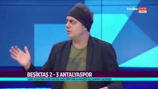 Ali Ece Hakem Halis Özkahya'ya Patladı - Beşiktaş 2-3 Antalyaspor 26 Ağustos 2018