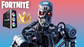 Streaming on New PC + Reaching Champion League! (Fortnite Season 5)