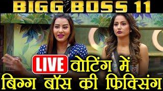 Bigg Boss 11: Shilpa Shinde and Hina Khan's LIVE VOTING was FAKE? Shilpa defeats Hina   FilmiBeat