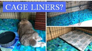 What to Line a Rabbit's Cage With : (THIS SAVED ME SO MUCH TIME!) : 3GirlsStitching