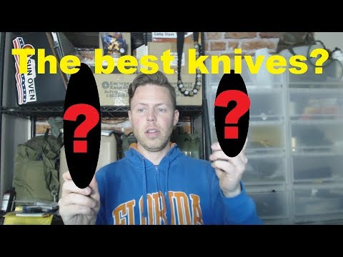 Are these the 2 greatest fixed blade knives? - INSANE value!