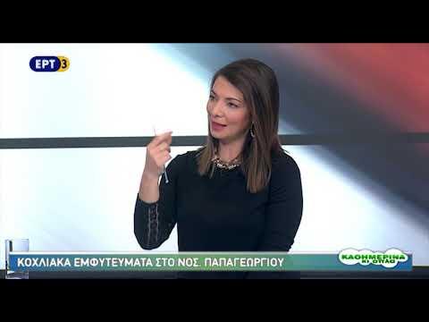Τα κοχλιακά εμφυτεύματα στο Νοσοκομείο Παπαγεωργίου    30/01/2018   ΕΡΤ