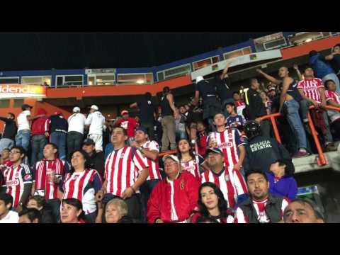 """LA INSURGENCIA, IRREVERENTE & REJA - PACHUCA VS CHIVAS"" Barra: La Irreverente • Club: Chivas Guadalajara"