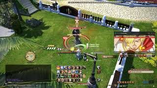 Final Fantasy XIV: Shadowbringers - Monk 5 05 Low Ping
