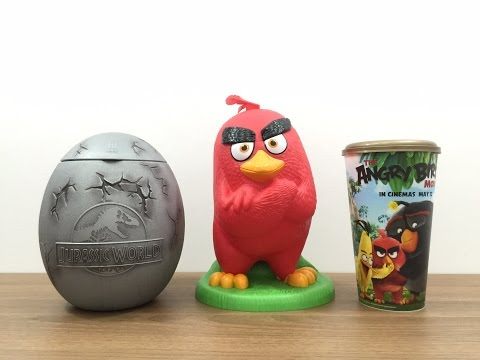 Review (รีวิว) : Special Bucket Set - Red - The Angry Birds Movie - Major Cineplex