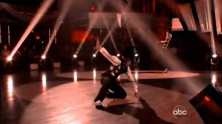 Mark Ballas & Chelsea Kane  -kiss from a rose