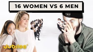 16 Waman COMPETE for 6 Guys (insane reaction) - Jubilee React #5