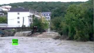 Наводнение в новомихайловском 22 августа 2020