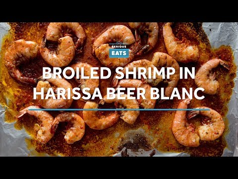 20-Minute Harissa Shrimp