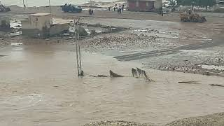 preview picture of video 'السيول التي اجتاحت قرى الحوريه والخضرانيه 2018/11/23'