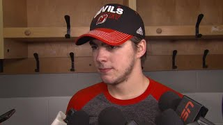 Hischier knew his 1st goal would come eventually