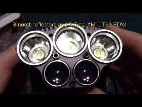 LED Headlamp from SGODDE Review!