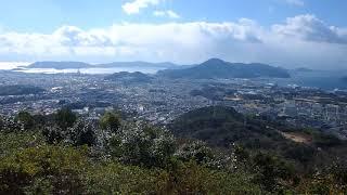 とおの山山頂から眺める展望山口県周南市