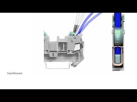Siemens Reihenklemmen ALPHA FIX - Schneidklemme (IDC) 8WH3