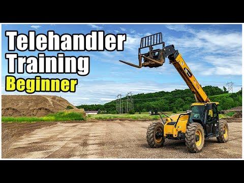 How to Drive a Forklift | Telehandler Forklift Operator Training